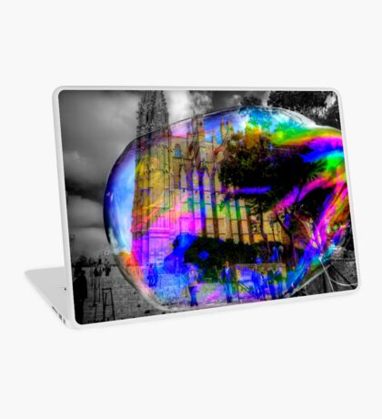 Basilica in a Bubble Laptop Skin