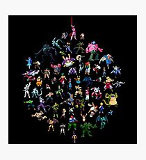 A Rogue's Gallery (sprites) Photographic Print