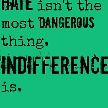 Hate/Indifference - Delirium trilogy by TheLovelyBooks