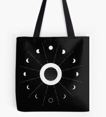 Twilight Moon Phases Tote Bag