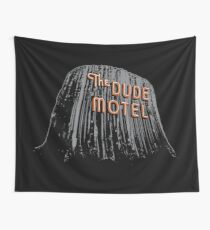 The Dude Motel – Devil's Tower Edition Wall Tapestry