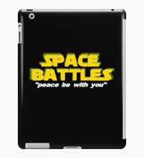 SPACE BATTLES peace be with you iPad Case/Skin