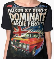 Ford Falcon XY GTHO Phase III (nostalgic) © Women's Chiffon Top