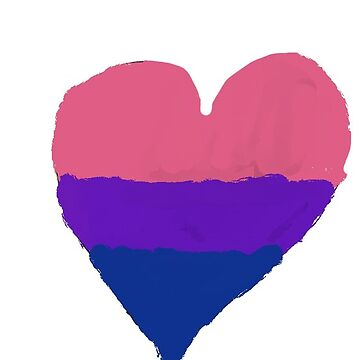 Corazón Bi Pride de BlueFury