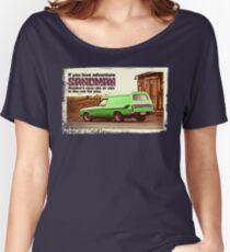 Holden Sandman Panel Van - Nostalgic © Women's Relaxed Fit T-Shirt