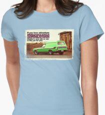 Holden Sandman Panel Van - Nostalgic © Womens Fitted T-Shirt
