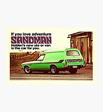 Holden Sandman Panel Van - Nostalgic © Photographic Print