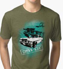 Ford Falcon XY GTHO Phase III (Grunge) © Tri-blend T-Shirt