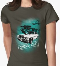 Ford Falcon XY GTHO Phase III (Grunge) © Womens Fitted T-Shirt