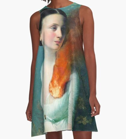 Portrait of a heart A-Line Dress