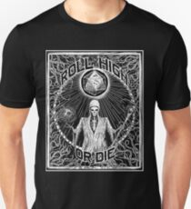 Roll High Or Die -  D20 - Dungeon Master D&D  Slim Fit T-Shirt