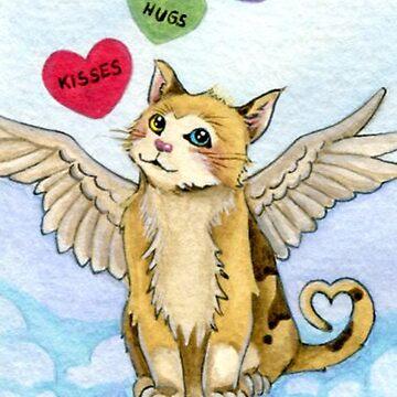 Valentine Cat by DarkCrow