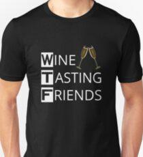 WTF Wine Tasting Friends T-Shirt