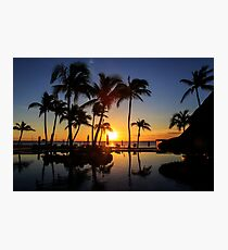 Sunrise at Cabo San Lucas Photographic Print