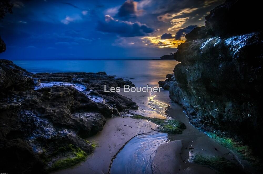 Summer Cloud Sunset by Les Boucher