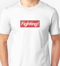 Fighting- Red Design T-Shirt