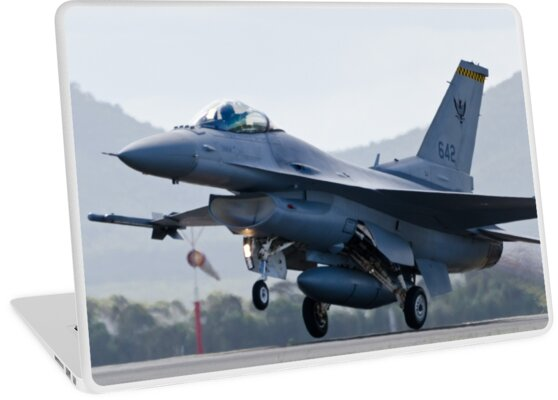'F16 - Takeoff' Laptop Skin by wolfcat