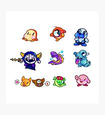 kirby & friends Photographic Print