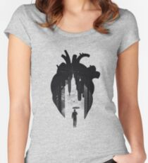 In the Heart of the City Women's Fitted Scoop T-Shirt