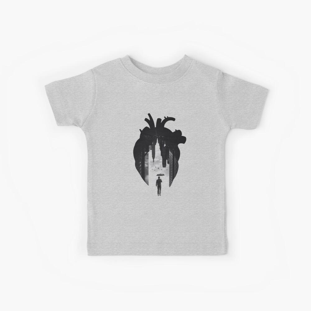 Im Herzen der Stadt Kinder T-Shirt