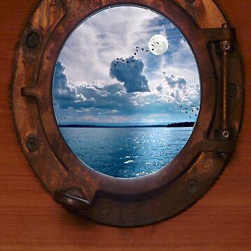 Glimpse..... by LesBoucher