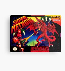 Super Metroid Metal Print
