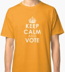 Keep Calm and Vote Classic T-Shirt