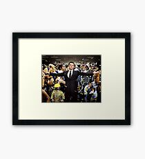 Wolf of Wall Street Framed Print