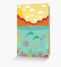 Sealife Greeting Card