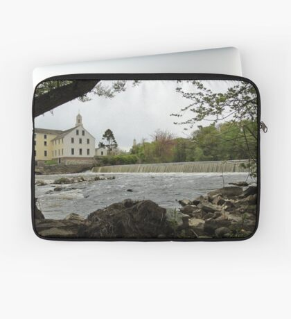 Slater Mill and Dam Laptop Sleeve