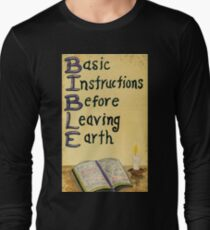 Meaning Of The Bible Long Sleeve T-Shirt
