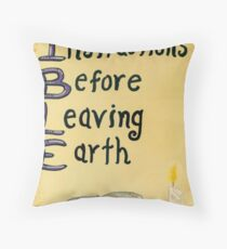 Meaning Of The Bible Throw Pillow