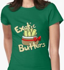 Exotic Butters (Five Nights at Freddy's SL) Womens Fitted T-Shirt