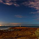 Rickett's Point at Midnight by Greg Earl