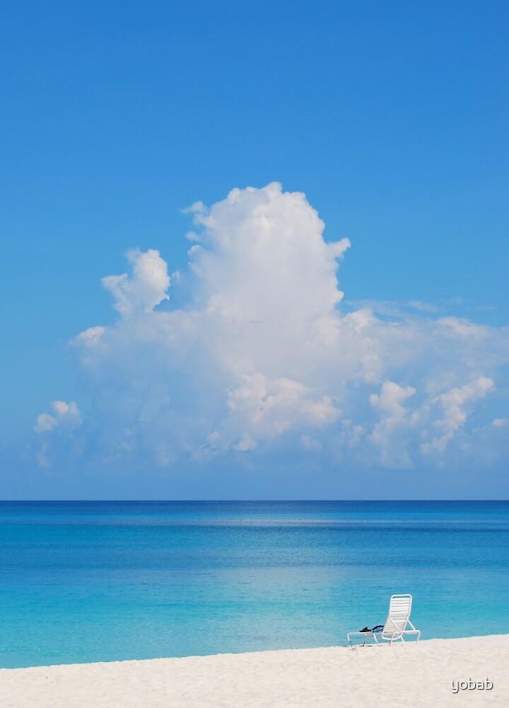 Beautiful Beach In Grand Cayman by yobab