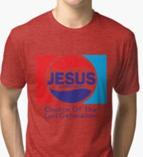 Jesus & Mary Chain - Lost Generation Pepsi Mashup Tri-blend T-Shirt