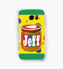 My Name is Jeff Samsung Galaxy Case/Skin