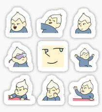 Baby Sour Cream sticker sheet Sticker