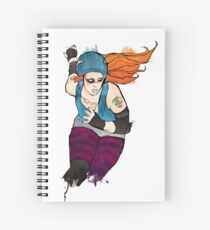 Malice Through the Looking Glass Spiral Notebook