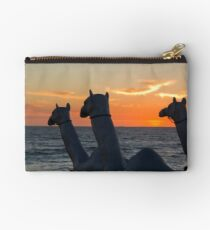 """Camels - Cottesloe """"Sculpture by the Sea"""" Studio Pouch"""