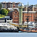 The Endeavour Sailing Ship - Newcastle NSW Australia by Phil Woodman