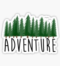 Adventure, Travel, Explore Nature Sticker