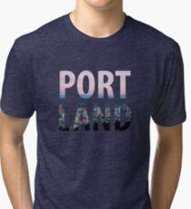 Portland City Tri-blend T-Shirt