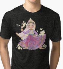 South Asian Dancing Doll Tri-blend T-Shirt