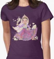 South Asian Dancing Doll Women's Fitted T-Shirt