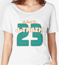 All Aboard the Ajayi J-Train Tshirt Women's Relaxed Fit T-Shirt