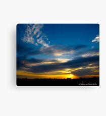 Cloud arrow Canvas Print