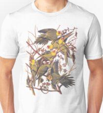 Carolina Parakeet Audubon Vintage Bookplate Unisex T-Shirt