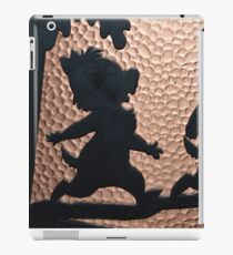 silhouette chip dale chipmunks iPad Case/Skin