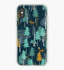 Winter Camping iPhone Case